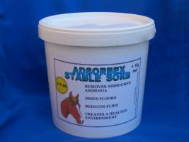 Remove ammonia from horses stable